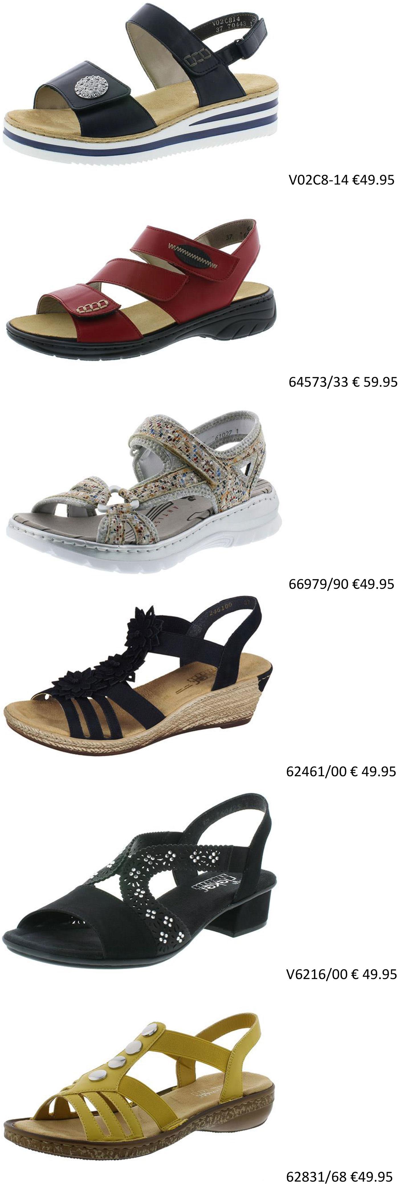 Rieker-Sandaletten-Damen